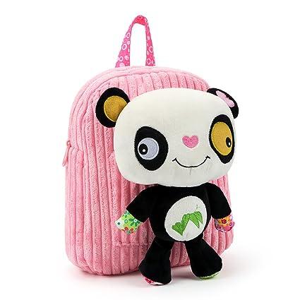 Hlc Muñeco Panda Diseños Mochilas De Bolsos Con Forma En Escolares Felpa Oso rYxrg4Pqw