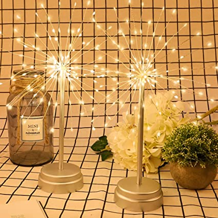 Amazon.com: Whonline 180 LED Firework alambre de cobre luces ...