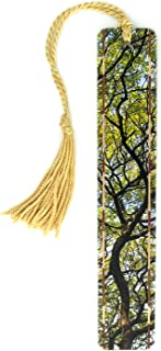 product image for Personalized Hawaiian Monkeypod Tree Branches Color Wooden Bookmark with Tassel - Search B07934HWVK for Non Personalized Version