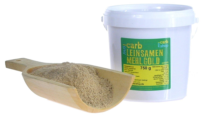 Carb GOLD Leinsamenmehl