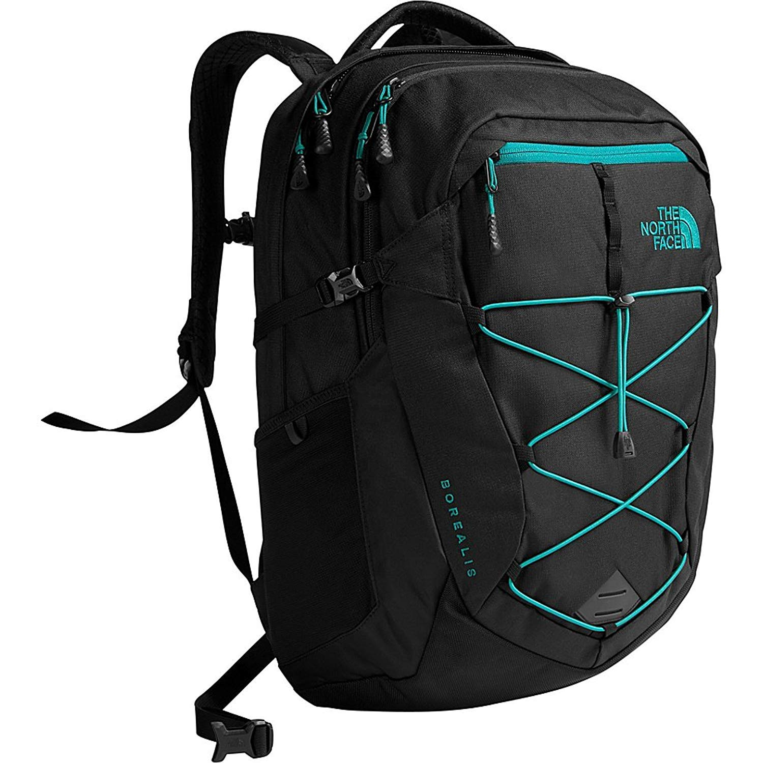 Amazon.com: The North Face Unisex Classic Borealis Backpack Student School Bag Black Heather Fanfare green: Sunshining99