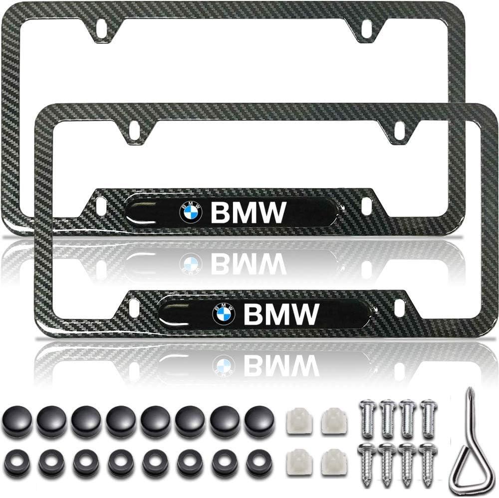 BMW Accessories Black License Plate Frame Carbon Fiber License Plate Frame License Plate Frame Black License Plate Frame BMW Metal License Plate Frame BMW License Plate Frame BMW Plate Frame