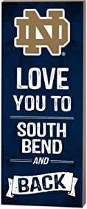 KH Sports Fan Kindred Hearts NCAA Michigan State Spartans Love You to East Lansing and Back Pallet Wall Art