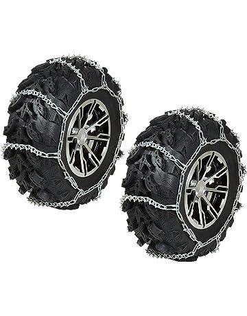 TireChain.com Can-Am Outlander Max 570 4x4 L DPS 25x10-12 Rear ATV Tire Chains