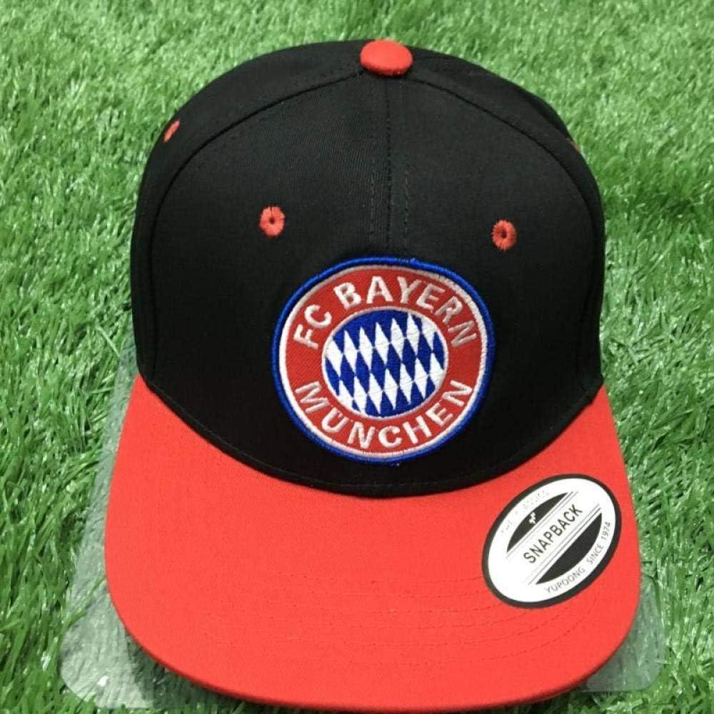Bayern Monaco Taglia Unica Taglia unica Cappellini da Baseball per Tifosi Di Calcio Della Squadra Europea Cappelli da Baseball Casual Cappellini da Sole Outdoor S-C Bayern Monaco