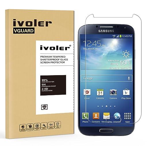 64 opinioni per Pellicola Vetro Temperato Samsung Galaxy S4, iVoler® ** [Protezione Antigraffi]