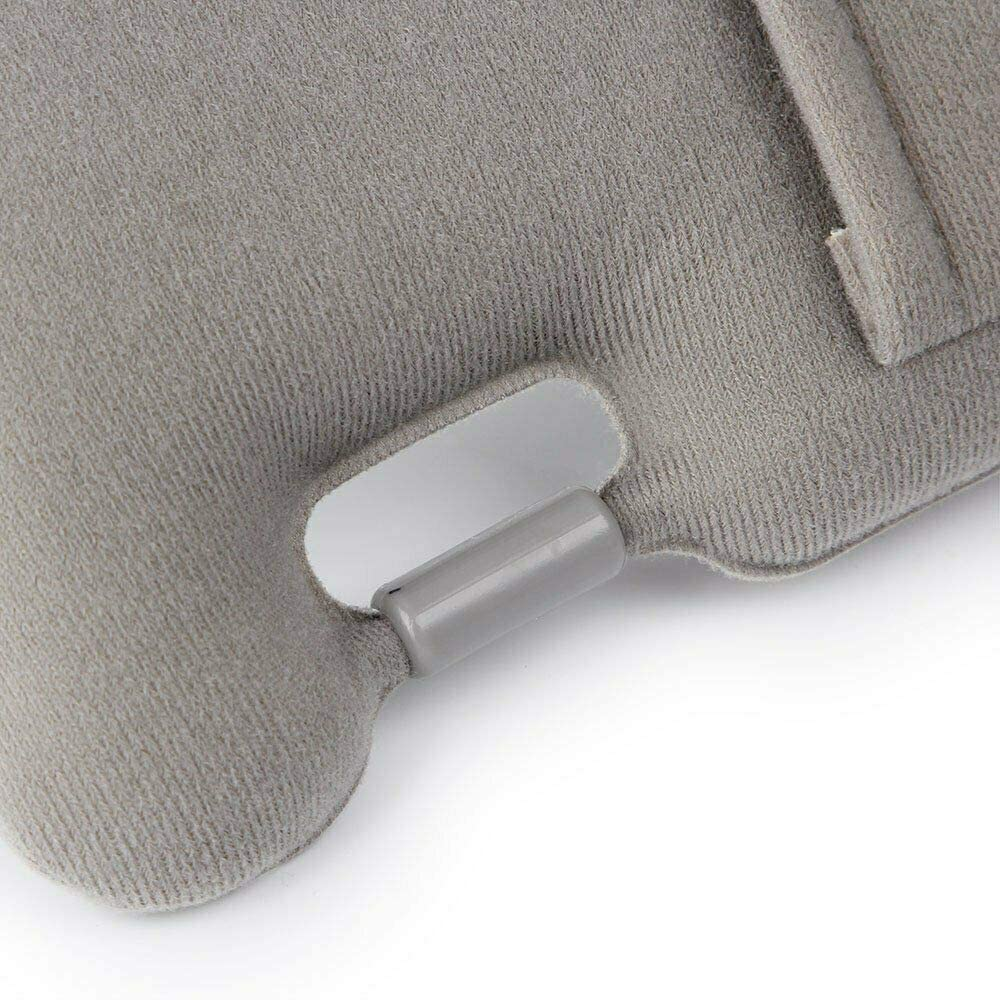74320-06780-B0 NPAUTO Left Driver Side Sun Visor for 2007 2008 2009 2010 2011 Toyota Camry and Camry Hybrid Gray Without Sunroof and Mirror Light