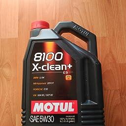 MOTUL Lubricante para Motor 11113941, 8100 X-Clean + 5W30, 5L ...