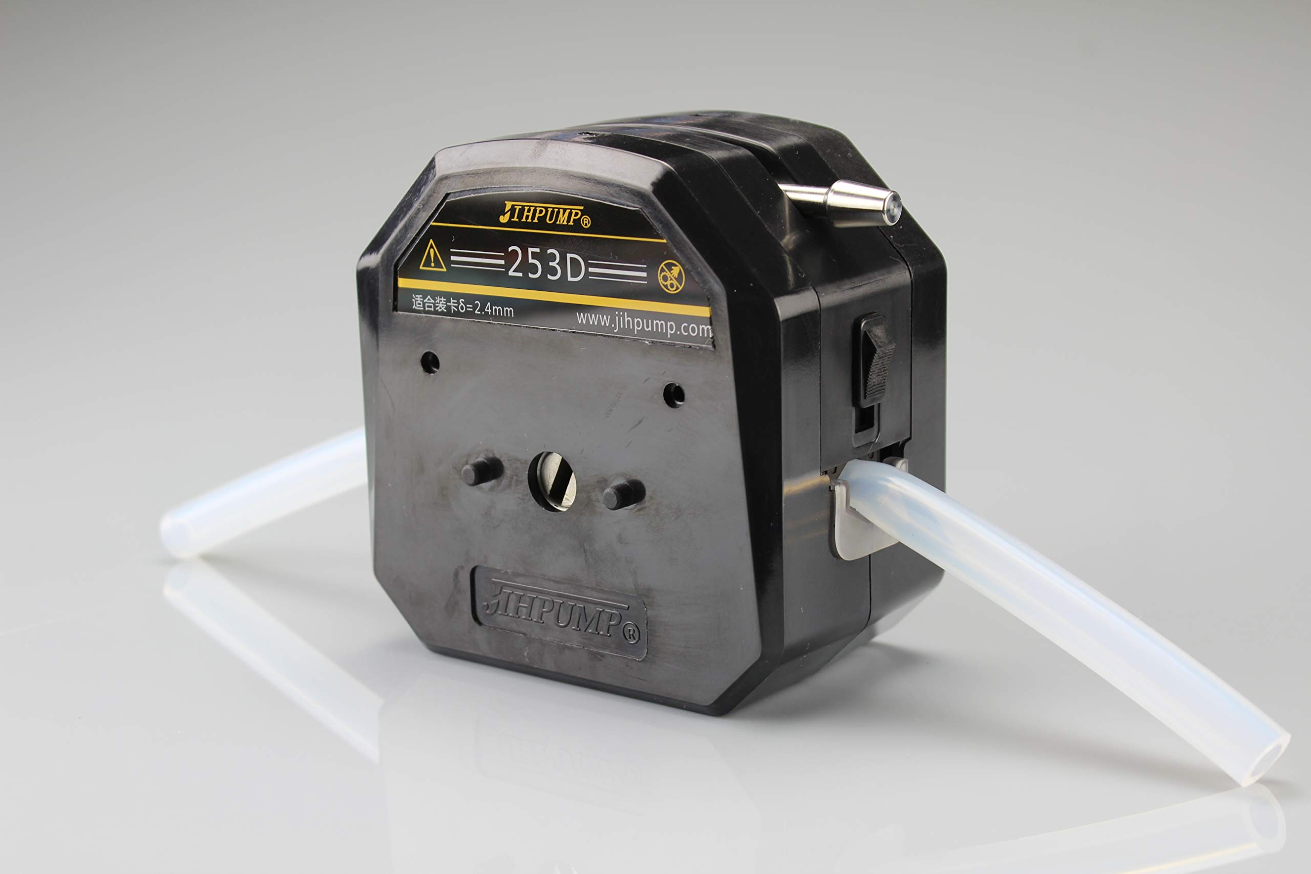 253D Easy Load Peristaltic Pump Head Large Flow for Industrial Water Treatment