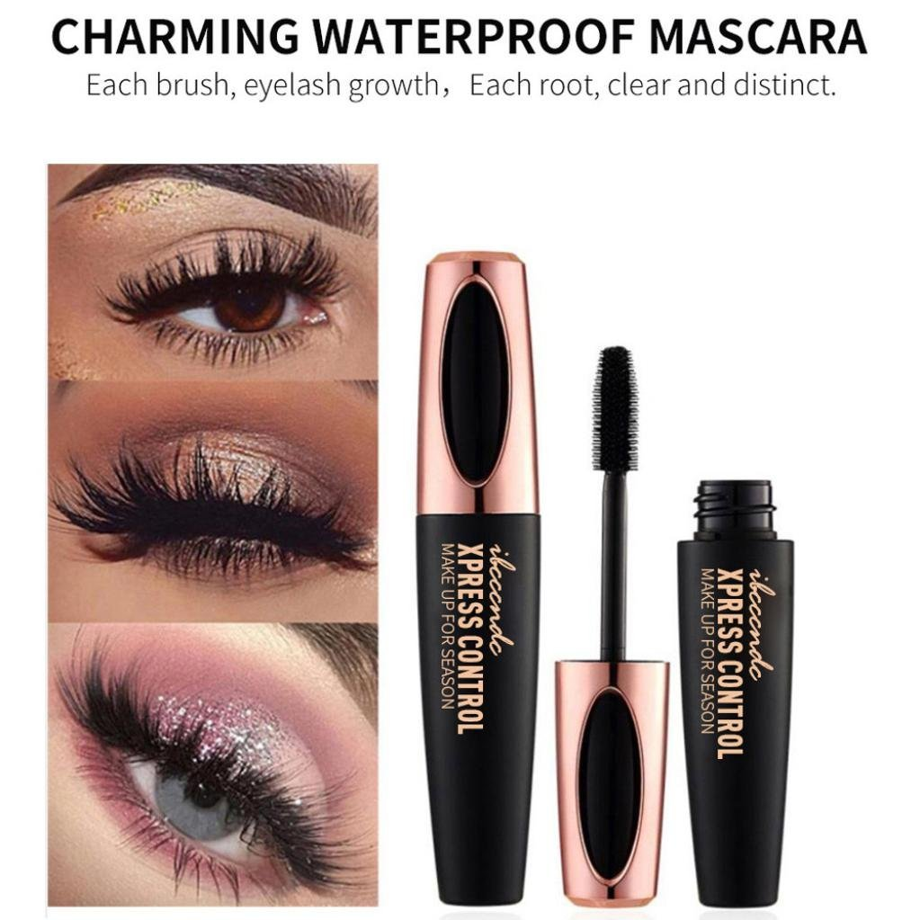 Amazon.com : Veepola 4D Cosmetic Black Veepola Mascara Makeup Eyelash Waterproof Extension Curling Eye Lashes : Beauty