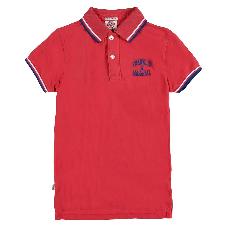 Franklin & Marshall Polo Man Shirt Xlarge Coral: Amazon.es: Ropa y ...