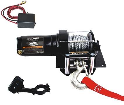 d3156c0b2de94 Amazon.com: Bulldog Winch 15002 Winch (3000lb ATV with Mini-Rocker ...