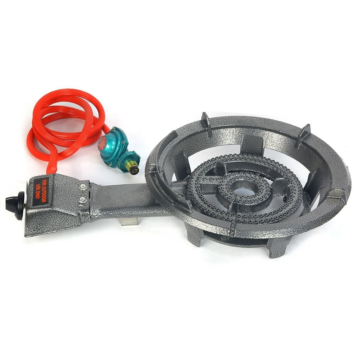 9TRADING Single Gas Propane Burner Stove Outdoor Camping Tailgate BBQ Cook, Free Tax,Delivered Within 10 Days