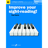 Improve Your Sight-Reading! Piano Grade 1 book cover