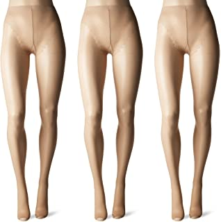 63ad32ebf Hanes Silk Reflections Women s Lasting Sheer Control Top Toeless ...