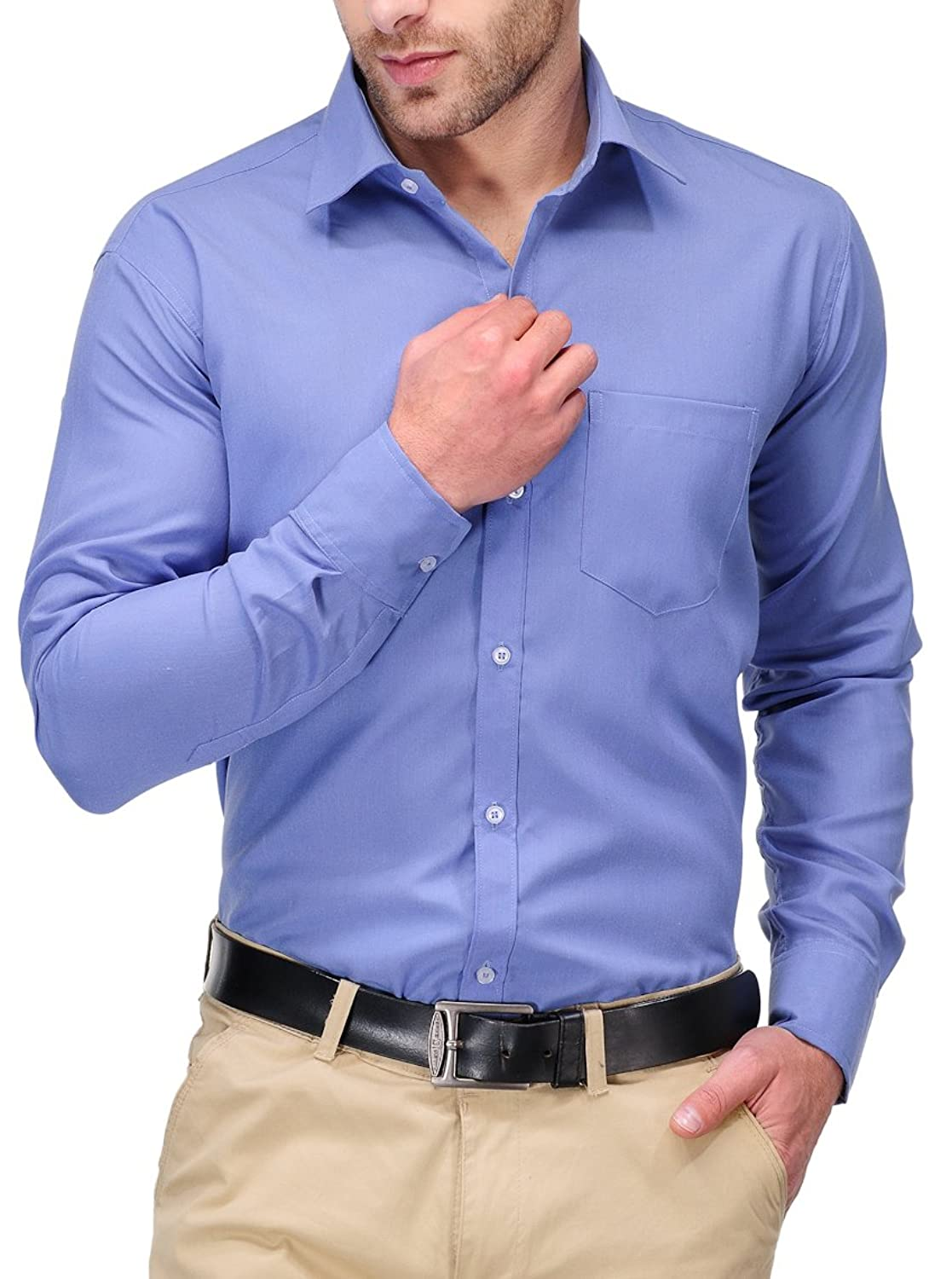 Koolpals Men's Formal Shirt: Amazon.in: Clothing & Accessories