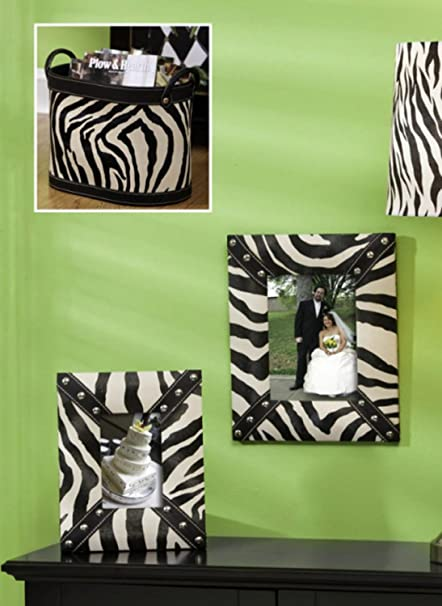 Amazon 3 Piece Set Of Diva Safari Zebra Print Picture Frames
