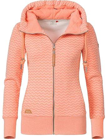 Ragwear WILMA B Hoodie Damen Sweat Jacke Beige Gr.XS,S,M,L,XL