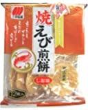 Sanko Rich Shrimp Flavoured Rice Cracker 12Pcs, shrimp, 83 g