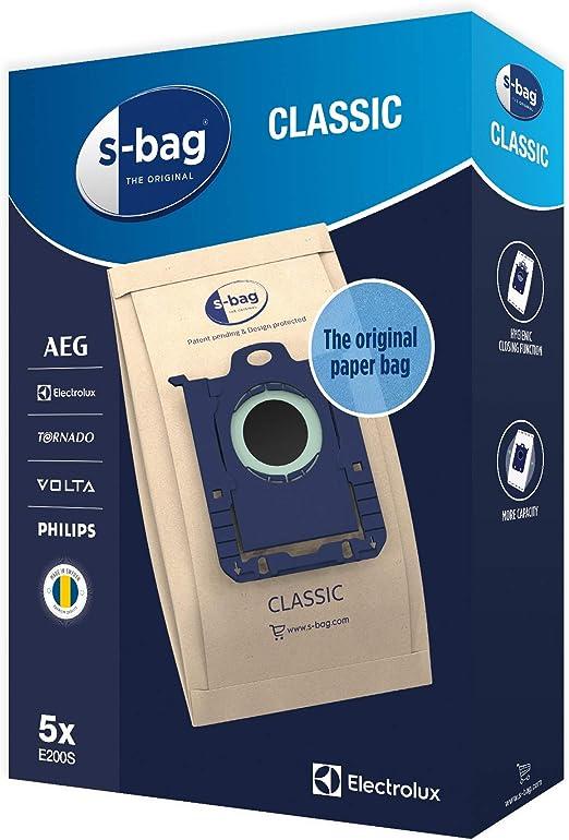 Electrolux 900168462 Bolsas para aspiradora Multicolor: Amazon.es ...
