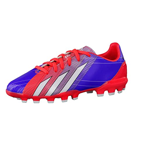 size 40 3189d 383db adidas Bota Jr F10 TRX AG Messi Turbo-Purple Amazon.es Zapatos y  complementos