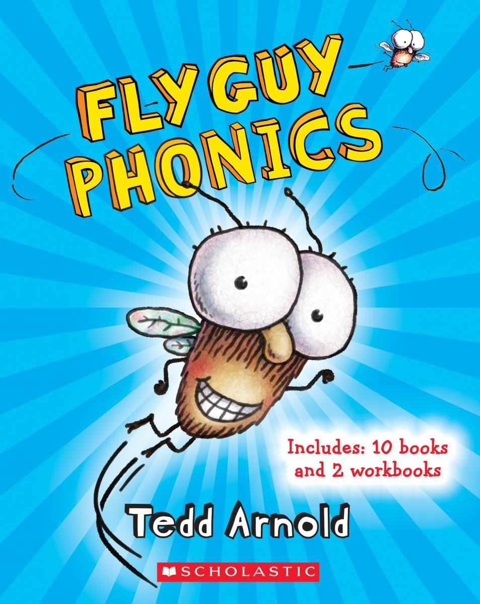Amazon Com Fly Guy Phonics Boxed Set 9780545918015 Tedd Arnold  # Fly Meubles Audio Bois