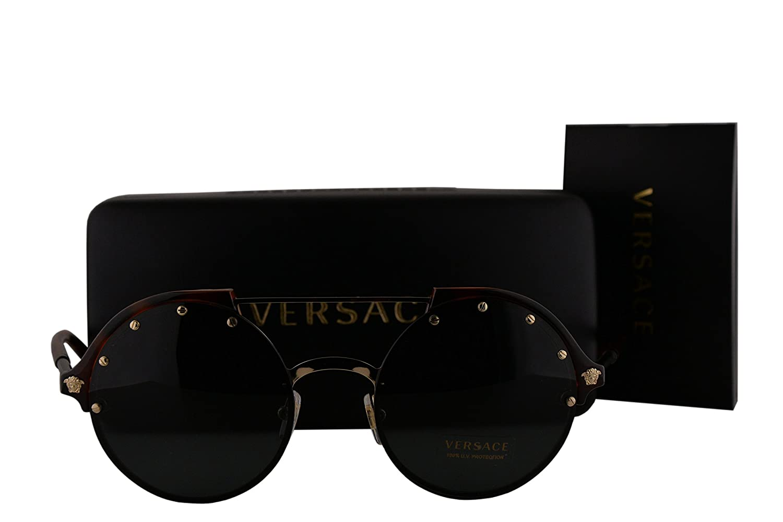 e8fd05f5f5759 Amazon.com  Versace VE4337 Sunglasses Havana w Gray Lens 26087 VE 4337   Sports   Outdoors
