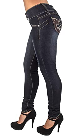 Levanta Cola Skinny Jeans Butt Lift Plus Size Colombian Design