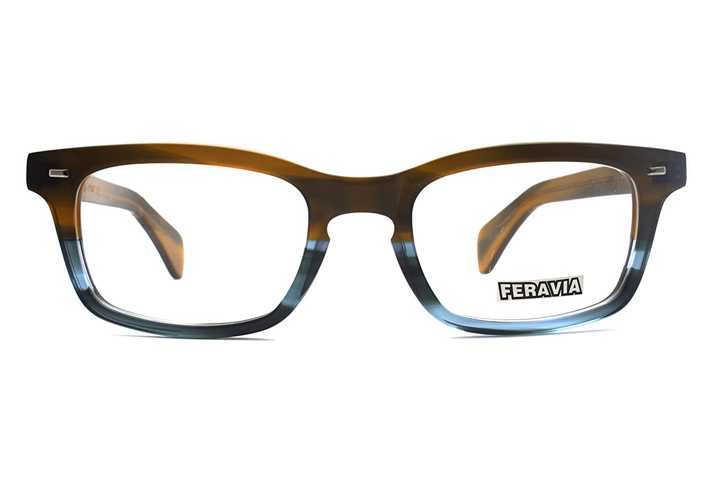 1bab9e706e Men Eyeglasses Strong Look Bold Rectangular Clear Lens Two Toned Acetate  Lixin Glasses