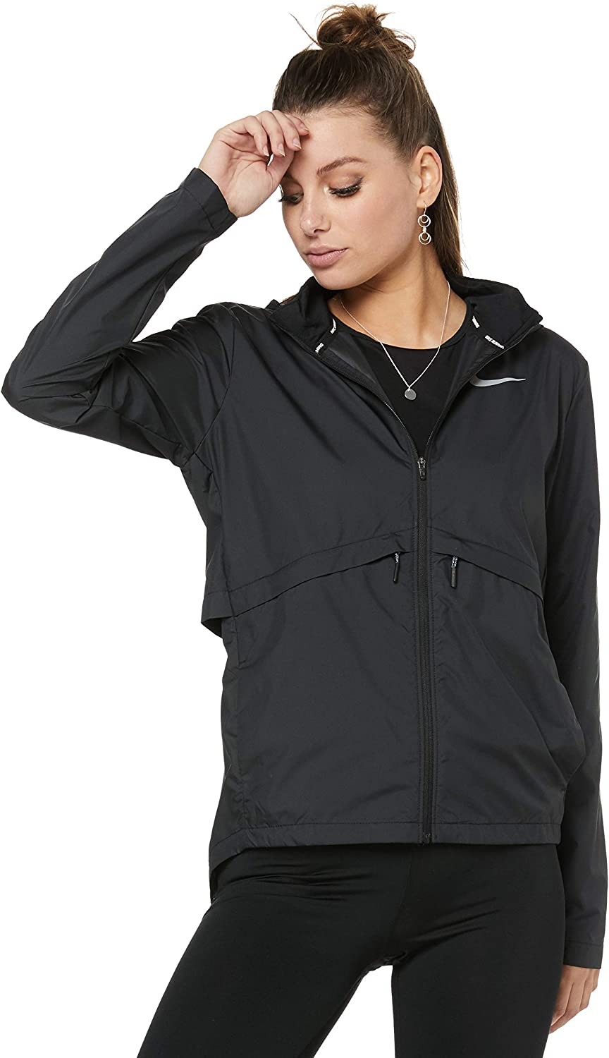Nike Women's Essential Hooded Running Jacket 933466 at ...