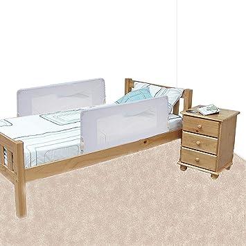 Safetots Doppelseitiger Bettgitter Weiss Amazon De Baby
