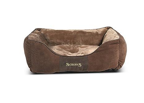 Scruffs Chester caja cama Chocolate M 60 x 50 cm