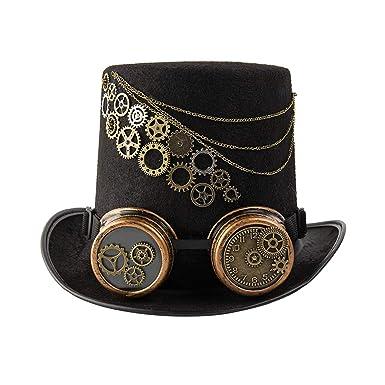 dream cosplay Cappello a Cilindro Steampunk Halloween  Amazon.it   Abbigliamento f5533b9a6f8c