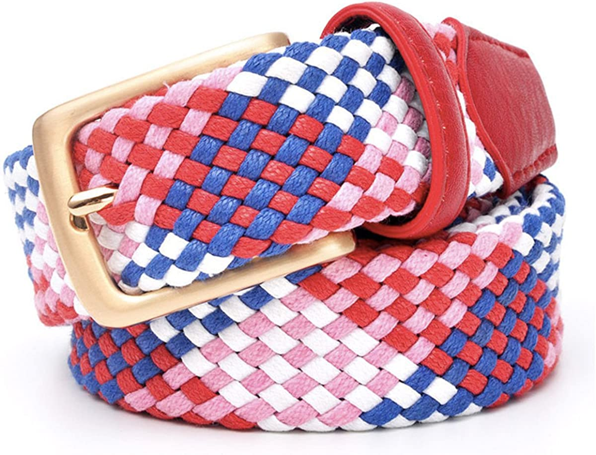 Belt For Lover Men Belt 3.5 Cm Women Belts 3.0 Cm Without Holes Cotton Weave Pipe Strong Belts From 23 To 60