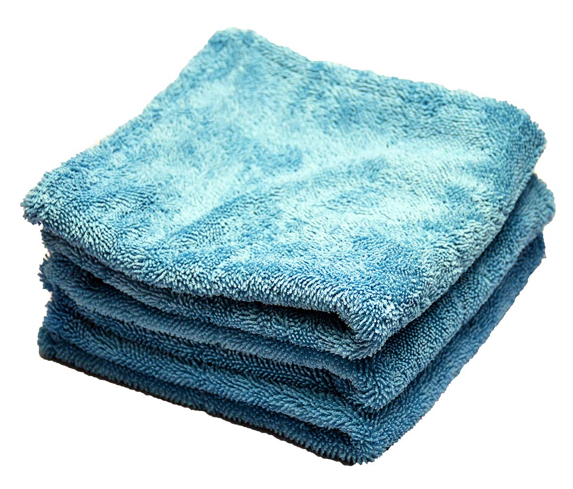 McKee's 37 MK37-G1100-3 3 Pack Glacier 1100 GSM Drying Towel, 16 x 16 Inches (Set of 3)