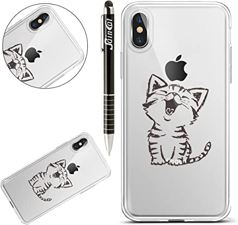 Custodia iPhone X iPhone X Cover Silicone SainCat Cover per