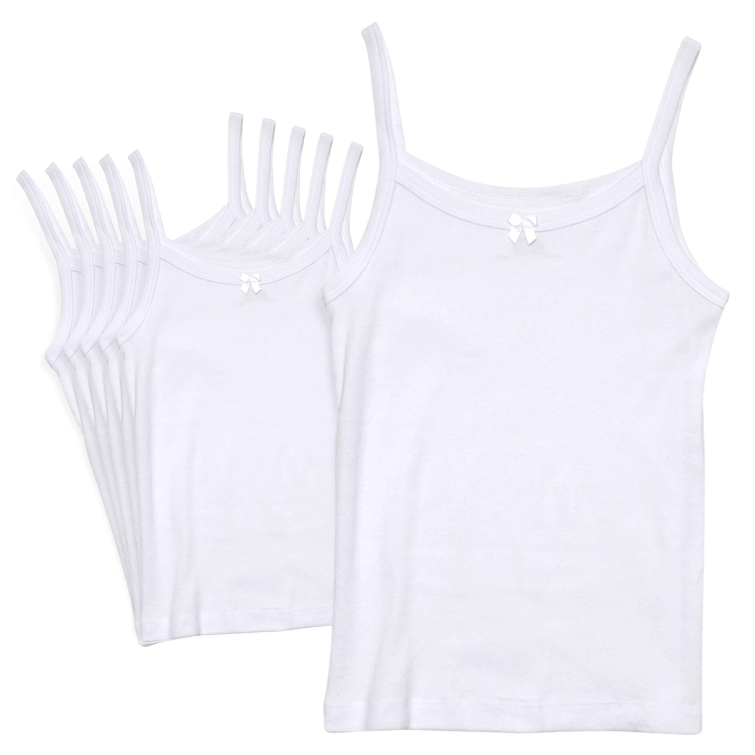 benetia Girls Undershirts Cotton KidsTank 3-Pack
