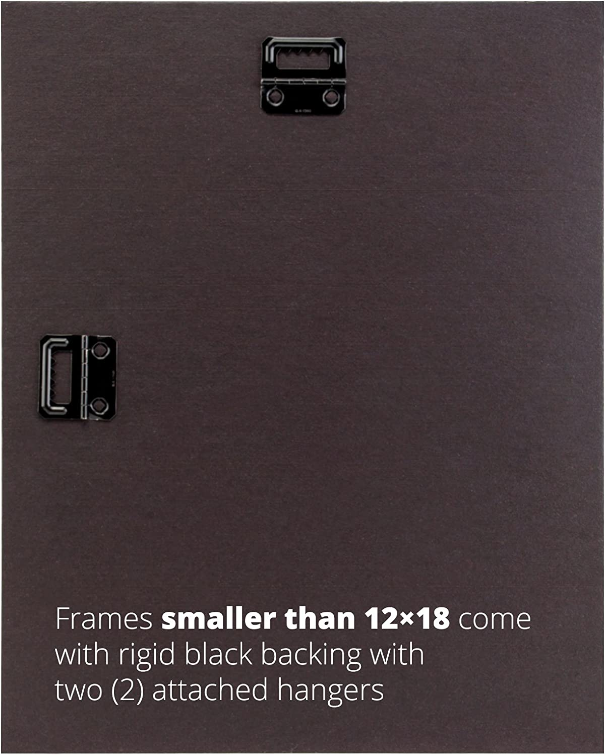 Craig Frames Contemporary Wide 18 by 27-Inch Black Satin Picture Frame