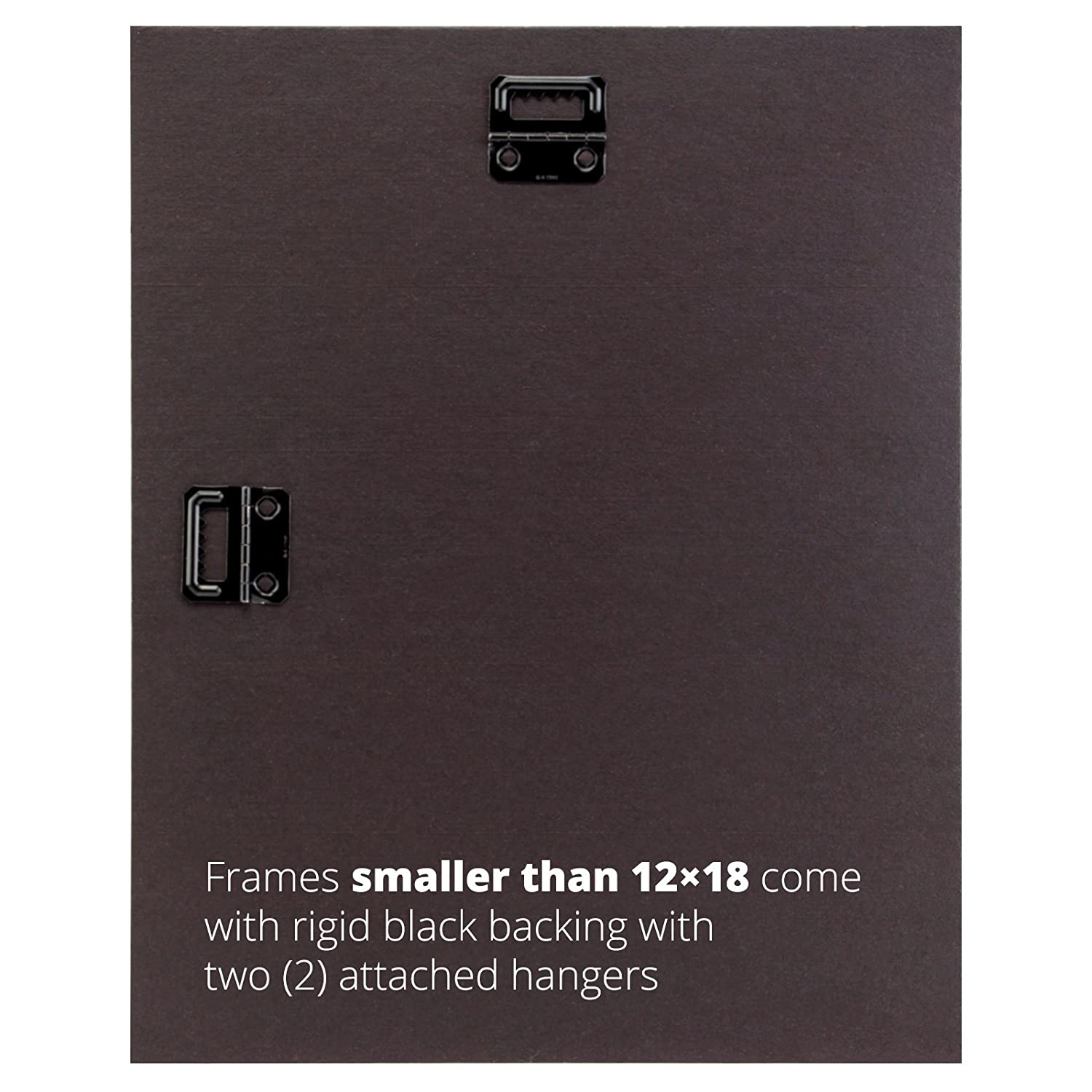 amazoncom craig frames 1wb3bk 11 by 17 inch home decor picture frame smooth finish 1 inch wide matte black single frames