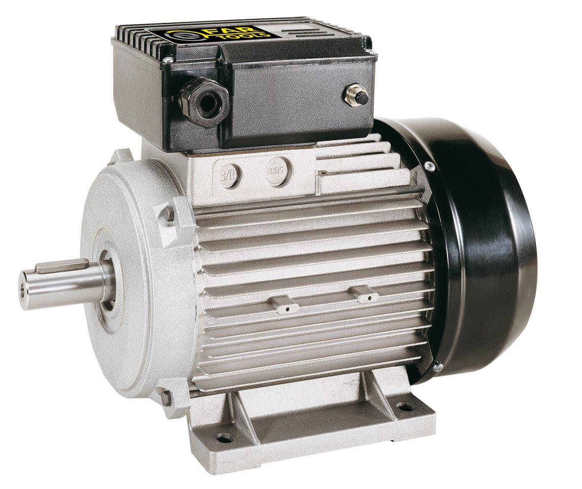 Fartools 117141 Elektromotor, 3CV (2P) 3000 U/min, Höhe 90 mm