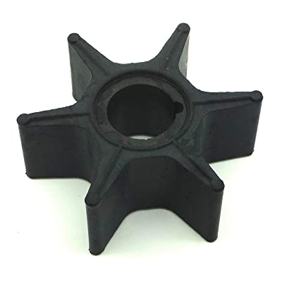 Impeller 353-65021-0 353650210 353650210M for Tohatsu Nissan 2-stroke 45hp 50hp 55hp 70hp 45A 50 55B 70A2 2cyl outboard motors: Automotive