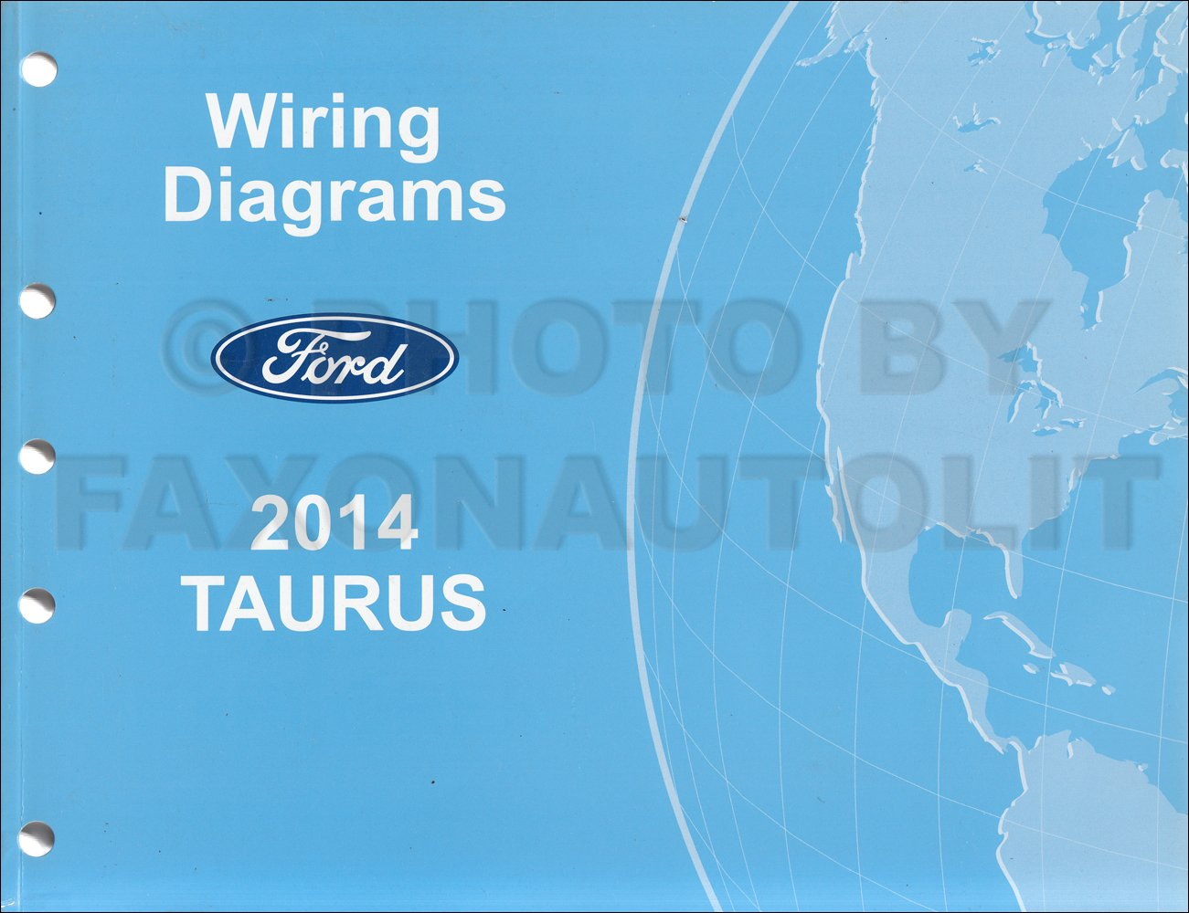 2014 ford taurus wiring diagram manual original ford amazon com books 1996 Ford Taurus Wiring Diagram