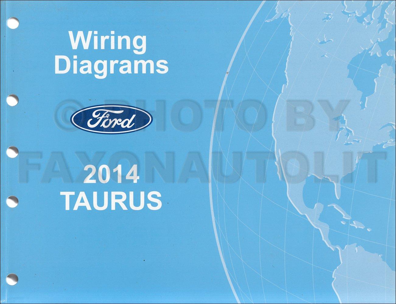 2014 Ford Taurus Wiring Diagram Manual Original: Ford: Amazon.com: Books | Ford Taurus Wiring Diagrams |  | Amazon.com