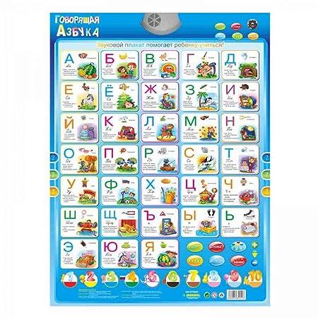 OMGDZ Cartel de Habla electrónica en Lengua Rusa Abecedario ...