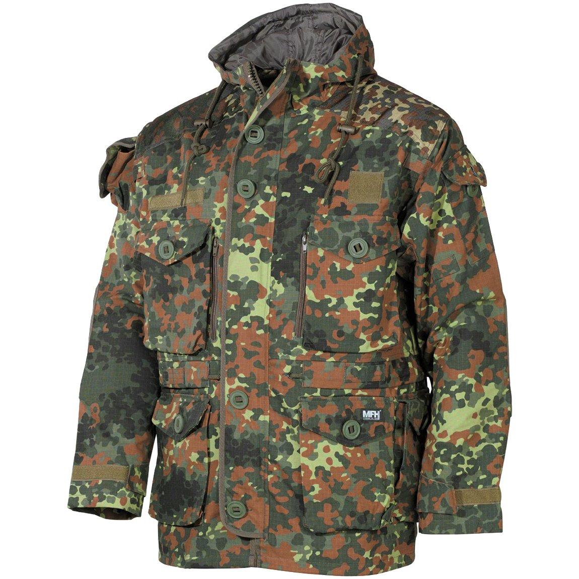 MFH Men's Commando Jacket Smock Flecktarn Size M