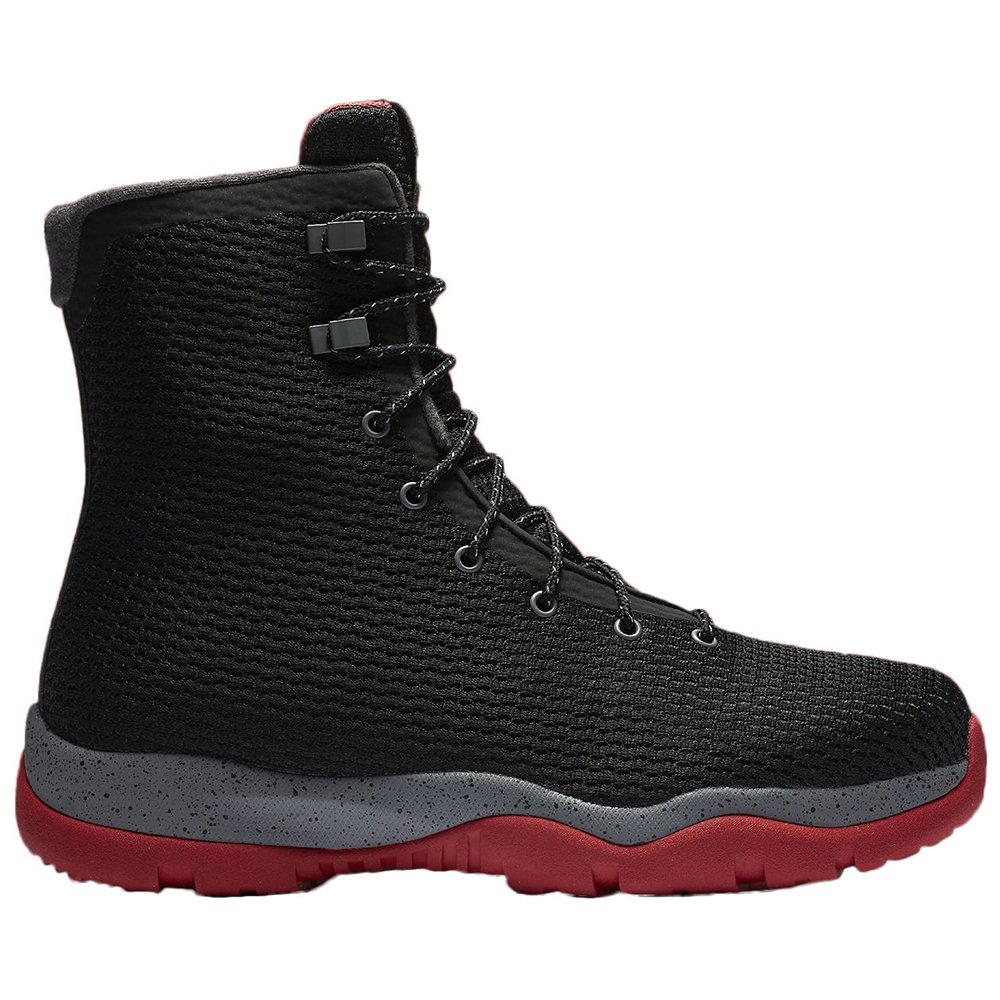 Nike Mens Jordan Future Boots Black/Cool Grey/Gym Red 854554-001 Size 11.5 by Jordan