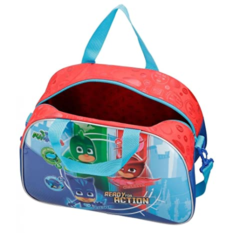 Amazon.com: PJ MASKS Ready for Action - Travel Bag - 15.7 Inches - Multicolor: Clothing