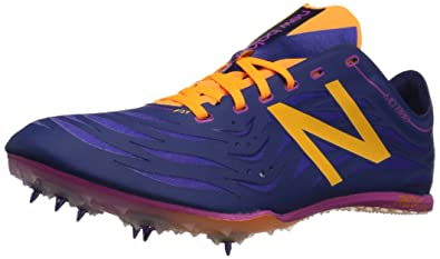 New Balance Women's MD800 Track Spike, Navy/Purple, 6.5 B US