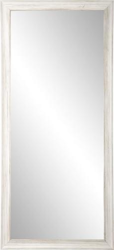 BrandtWorks AV18TALL Texture Tall Vanity Wall Mirror