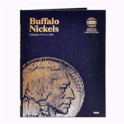 Whitman U.S. Buffalo Nickel 1913-1938 #9008 Coin Folder: Toys & Games